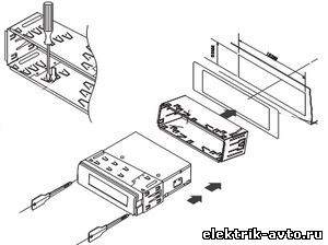 схема подключения supra усилитель