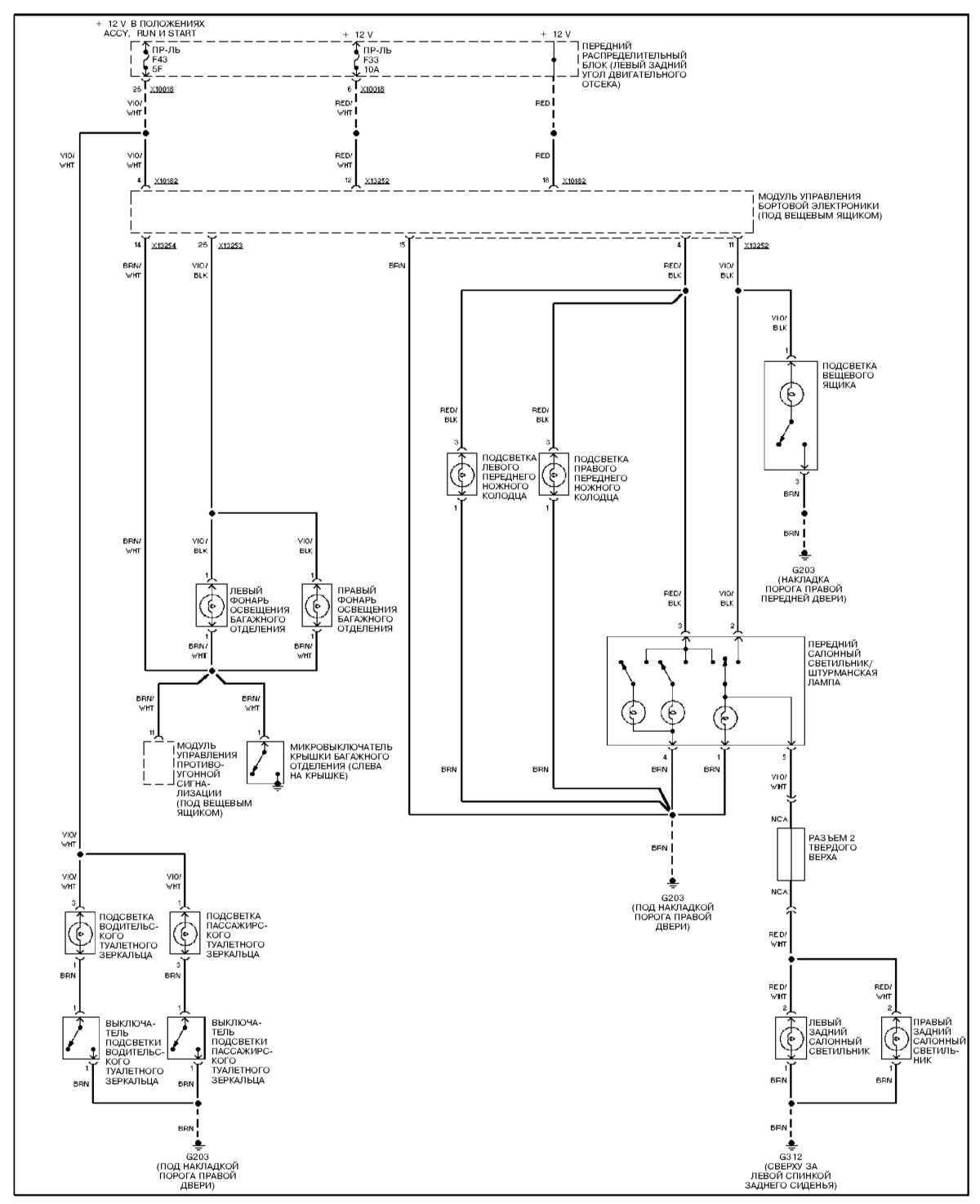 схема подключения реле при промывке форсунок своими