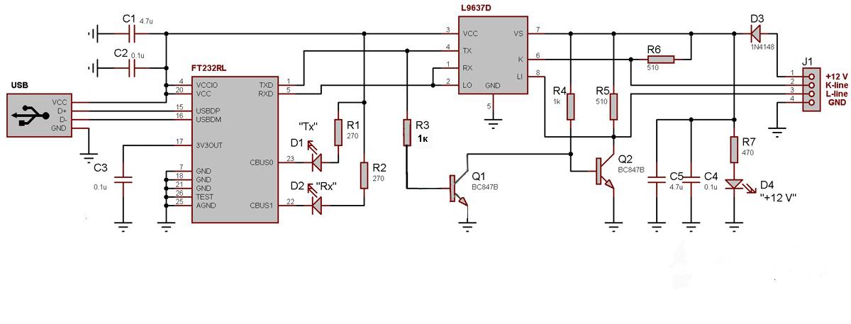 Автоэлектрик Схема Адаптера