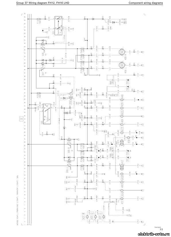 вольво а40е электрические схемы