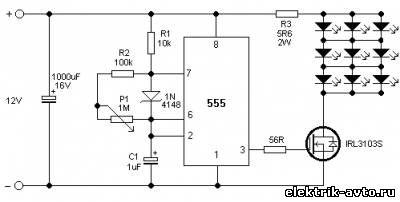 Схема стробоскопа для установки зажигания фото 939