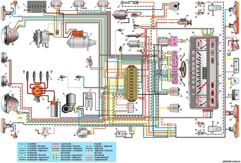хонда срв 97 года схема проводки на аварийки