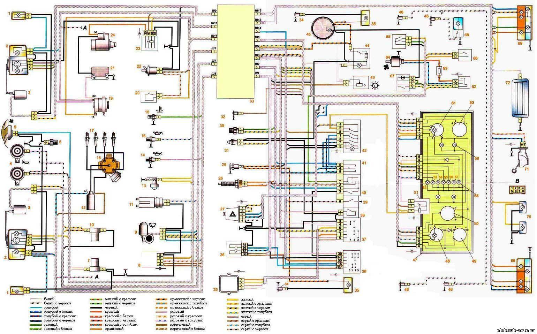 схема включения вентилятора охлаждения ока