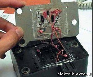 modul4 - Схема подключения модуля зажигания ваз 2110