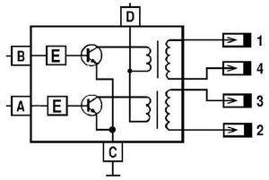 modul 1 - Схема подключения модуля зажигания ваз 2110