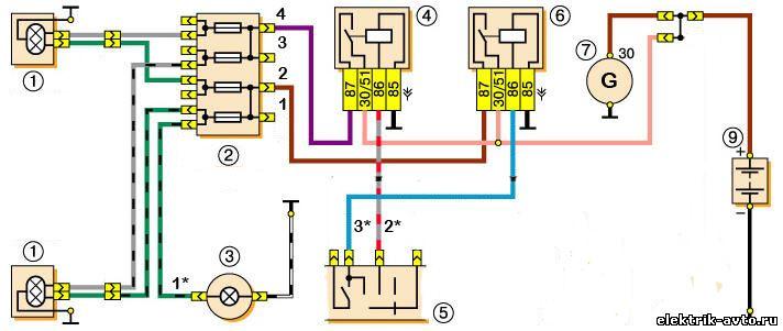к электрической схеме